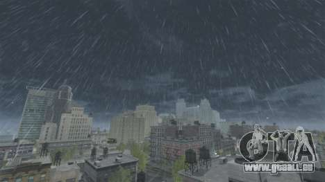 Météo en Grèce pour GTA 4 secondes d'écran