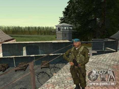 Grenadier De Troupes Aéroportées pour GTA San Andreas deuxième écran