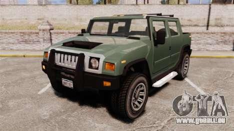 Patriot pickup pour GTA 4