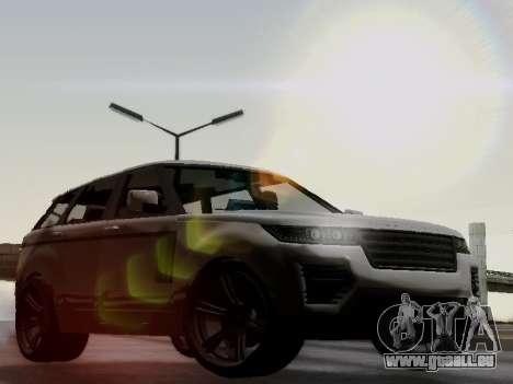 Baller 2 из GTA V pour GTA San Andreas vue arrière