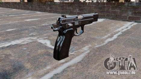 Pistolet Cz75 pour GTA 4 secondes d'écran