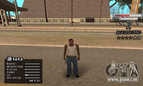C-HUD v2 pour GTA San Andreas quatrième écran