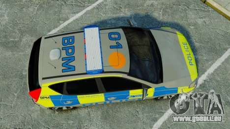 Hyundai i30 Metropolitan Police [ELS] pour GTA 4 est un droit