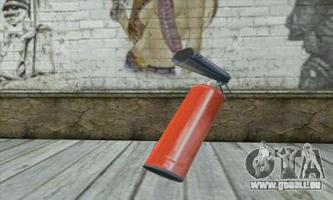 Feuerlöscher für GTA San Andreas