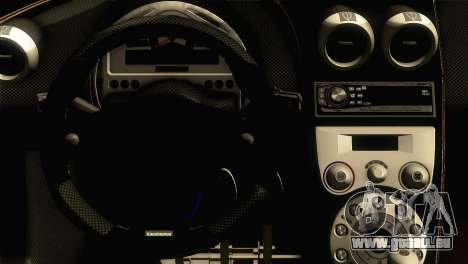 Koenigsegg CCX 2006 Autovista pour GTA San Andreas vue de droite