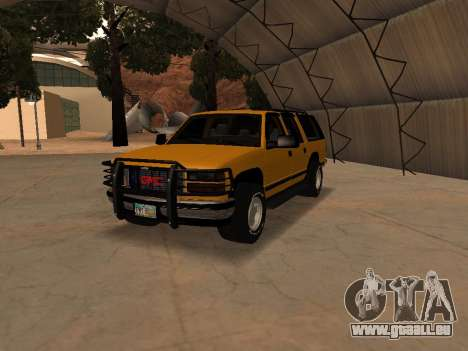 GMC Yukon pour GTA San Andreas