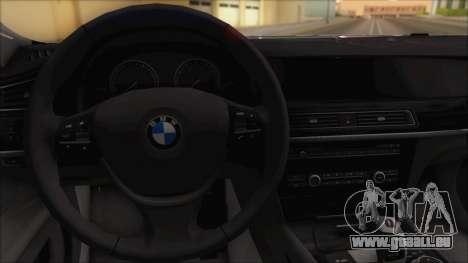 BMW 750i pour GTA San Andreas vue de droite
