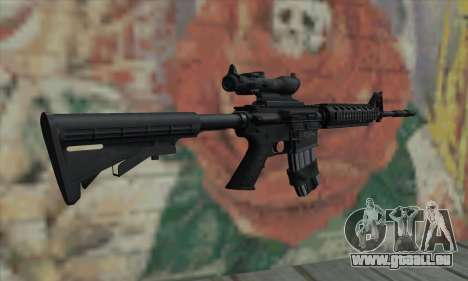 M4 RIS Acog Sight für GTA San Andreas zweiten Screenshot