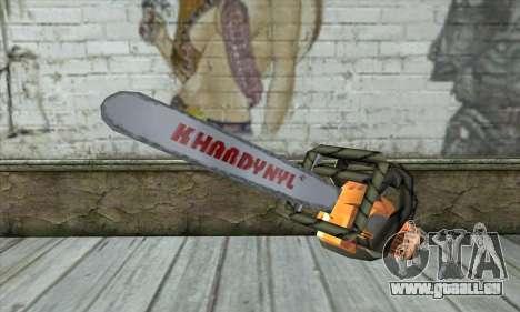 Tronçonneuse pour GTA San Andreas