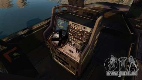 Navy SEALs SOC-R für GTA 4 Rückansicht
