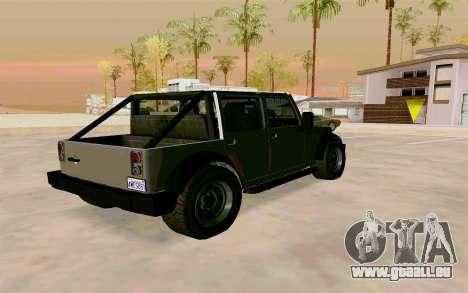 GTA V Mesa pour GTA San Andreas laissé vue