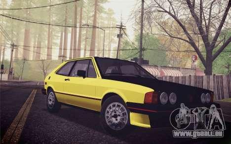 Volkswagen Scirocco S (Typ 53) 1981 IVF für GTA San Andreas