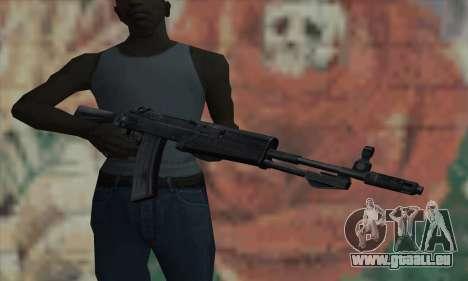 L'AK47 de S.T.A.L.K.E.R. pour GTA San Andreas troisième écran