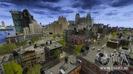 Météo À Los Angeles pour GTA 4 secondes d'écran