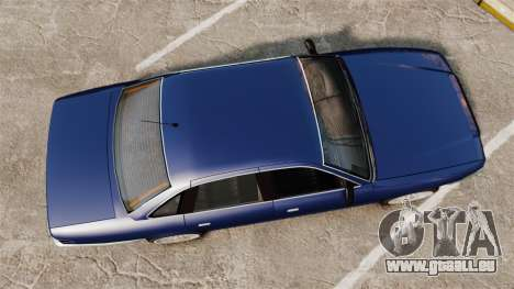 Civil Cruiser pour GTA 4 est un droit