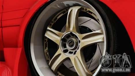 Toyota AE86 für GTA San Andreas Rückansicht