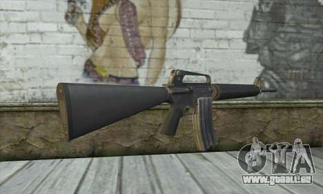 M4A1 из Postal 3 für GTA San Andreas zweiten Screenshot