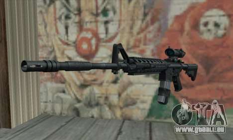 M4 RIS Acog Sight pour GTA San Andreas