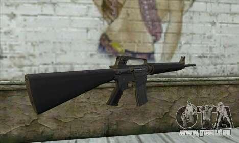 M16A2 für GTA San Andreas zweiten Screenshot