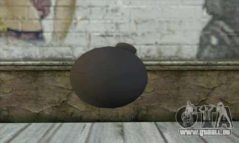Pirate Grenade für GTA San Andreas zweiten Screenshot