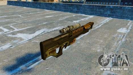 Elektromagnetische M20 14 Gauss Rifle für GTA 4 Sekunden Bildschirm