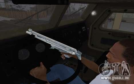 MRAP de BF4 pour GTA San Andreas vue arrière