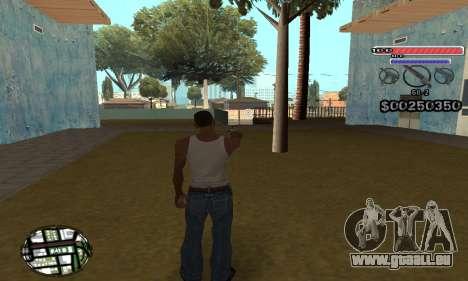 C-HUD v2 pour GTA San Andreas deuxième écran
