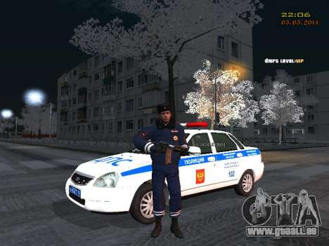Pak Dps in einem Winter-Format für GTA San Andreas her Screenshot