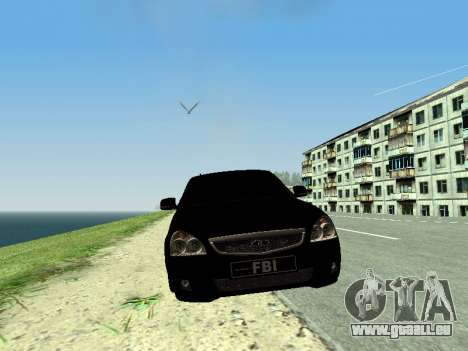 VAZ Priora 2170 für GTA San Andreas linke Ansicht