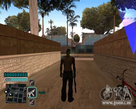 C-HUD v1 pour GTA San Andreas