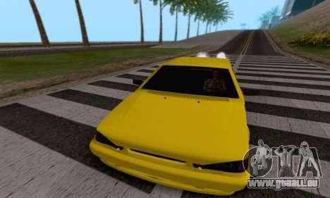 VAZ 2115 Diod pour GTA San Andreas vue intérieure