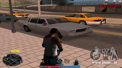 C-Hud Army by Kin pour GTA San Andreas deuxième écran