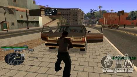 C-HUD Solt für GTA San Andreas zweiten Screenshot