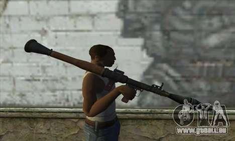 Lanceur de fusée pour GTA San Andreas troisième écran