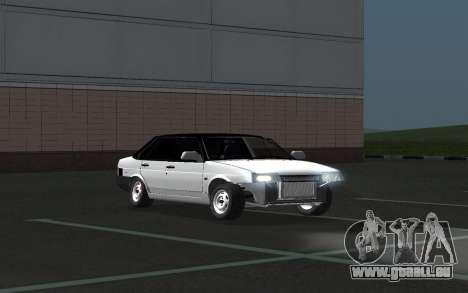 VAZ 21099 für GTA San Andreas Unteransicht