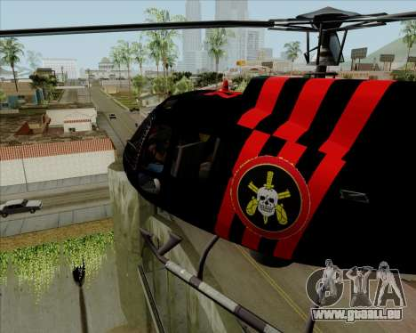 Sparrow BOPE für GTA San Andreas linke Ansicht