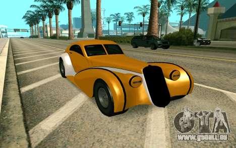 GTA V Z-type pour GTA San Andreas