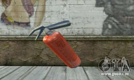 Feuerlöscher für GTA San Andreas zweiten Screenshot