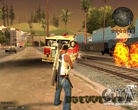 C-HUD CS:GO pour GTA San Andreas troisième écran