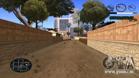 C-HUD by Djet pour GTA San Andreas troisième écran