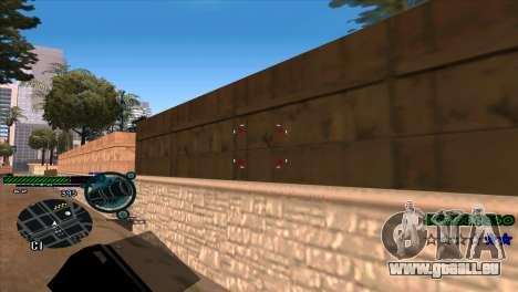 C-HUD Solt pour GTA San Andreas troisième écran