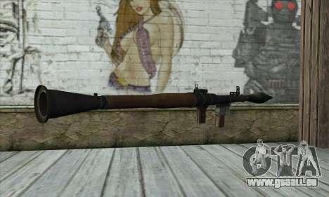 Rocket launcher für GTA San Andreas zweiten Screenshot
