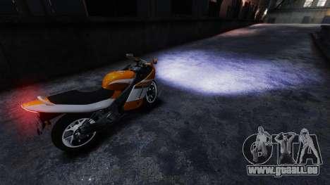 Echte xenon-Scheinwerfer für GTA 4 Sekunden Bildschirm