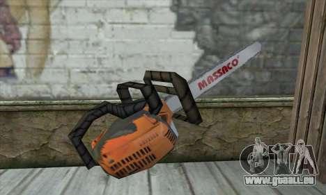 Tronçonneuse pour GTA San Andreas deuxième écran