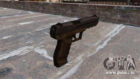 Pistolet Crysis 2 v2.0 pour GTA 4 secondes d'écran