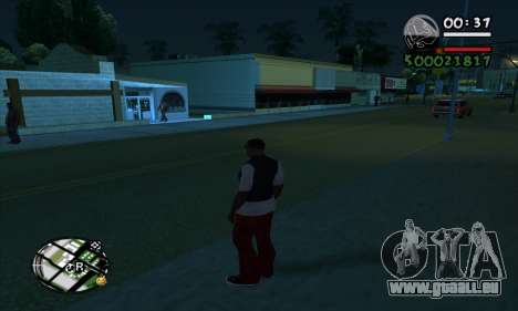 ARP C-HUD by Chrome v2 für GTA San Andreas dritten Screenshot