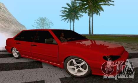 VAZ 2115 Diod pour GTA San Andreas laissé vue