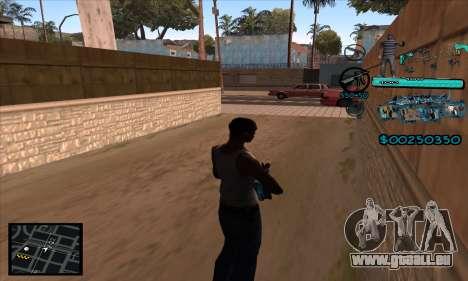 C-HUD Aztecas Gang pour GTA San Andreas