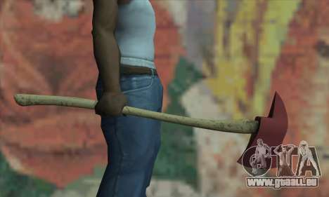 Hache de la L4D pour GTA San Andreas troisième écran