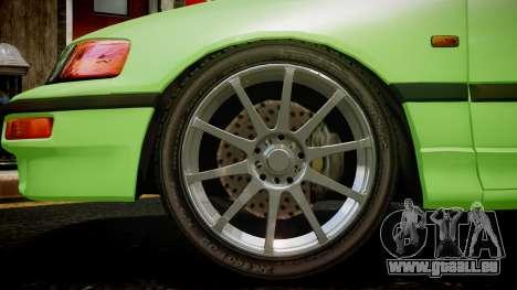 Honda CR-X pour GTA 4 Vue arrière de la gauche